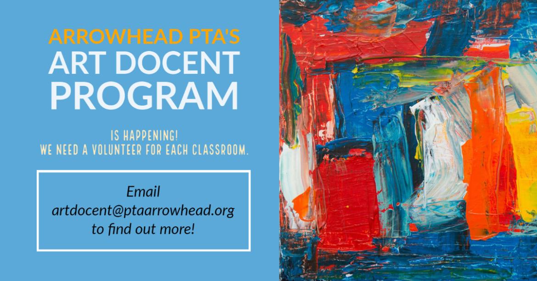 Art Docent Help
