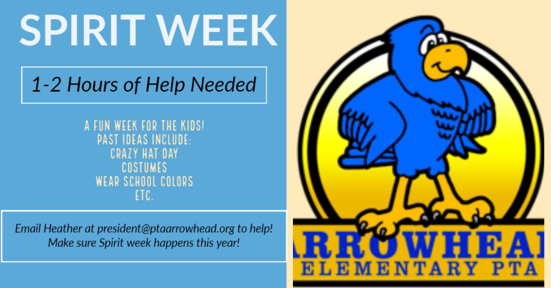 Spirit Week Help